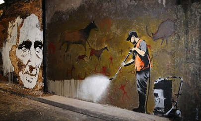 Banksy's Cans Festival.