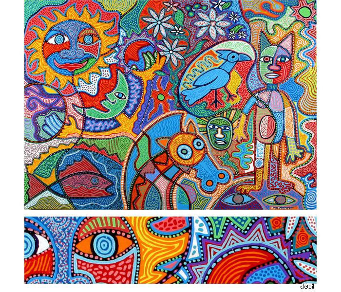 what is aztec art