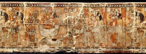 Ratinlinxul Vase, Maya, Chamá-style cylindrical vase