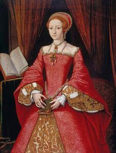 Portrait of Elizabeth I as a Princess, circa 1546.