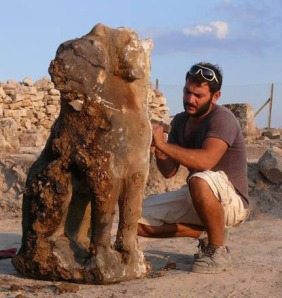 Statue of Cerberus found at Hierapolis, Turkey.