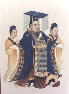 Emperor Wu Di of the Han Dynasty.