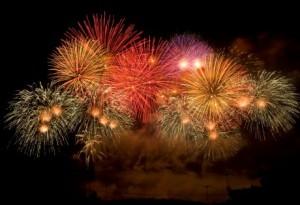 excellent fireworks