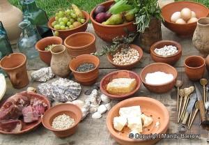 Ancient Roman food