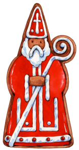 Saint Nicholas Cookie