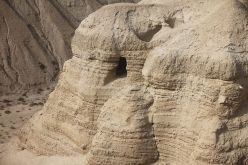 The cave of Qumran.