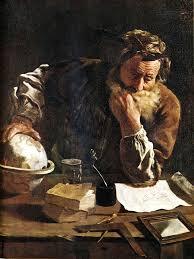 Archimedes by Fetti, 1620.