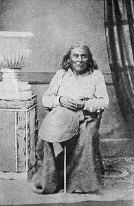 Chief Seattle. This image is in the public domain in the United States.