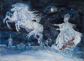 The Snow Queen, illustration by Elena Ringo.