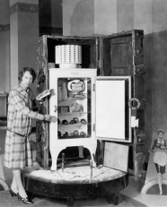 The GE Monitor Top Refrigerator of the 1930's.