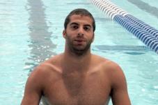 Olympic swimmer, Mazen Aziz.