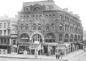 Wallack's Theater in 1900.