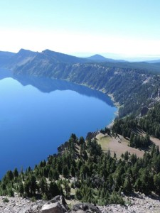 Crater Lake National Park, Oregon.