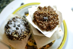 No Bake Quinoa Cookies Chocolate Peanut Butter and Almond Chocolate THE LOVE OF FOOD BLOG
