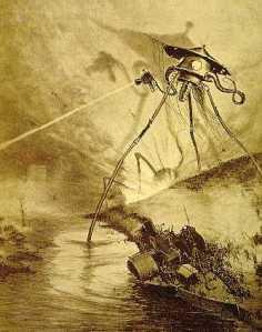 """War-of-the-worlds-tripod"" by Henrique Alvim Correa,1906"