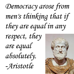aristotle democracy