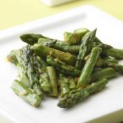 asparagus with curry butter