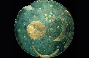 3,600 year old Nebra Sky Disc.