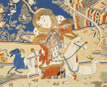Hanging scroll from the Qing Dynasty (1644-1911/1912)