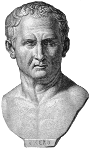 The Roman philosopher and orator Marcus Tullius Cicero used loci in his De Oratore.