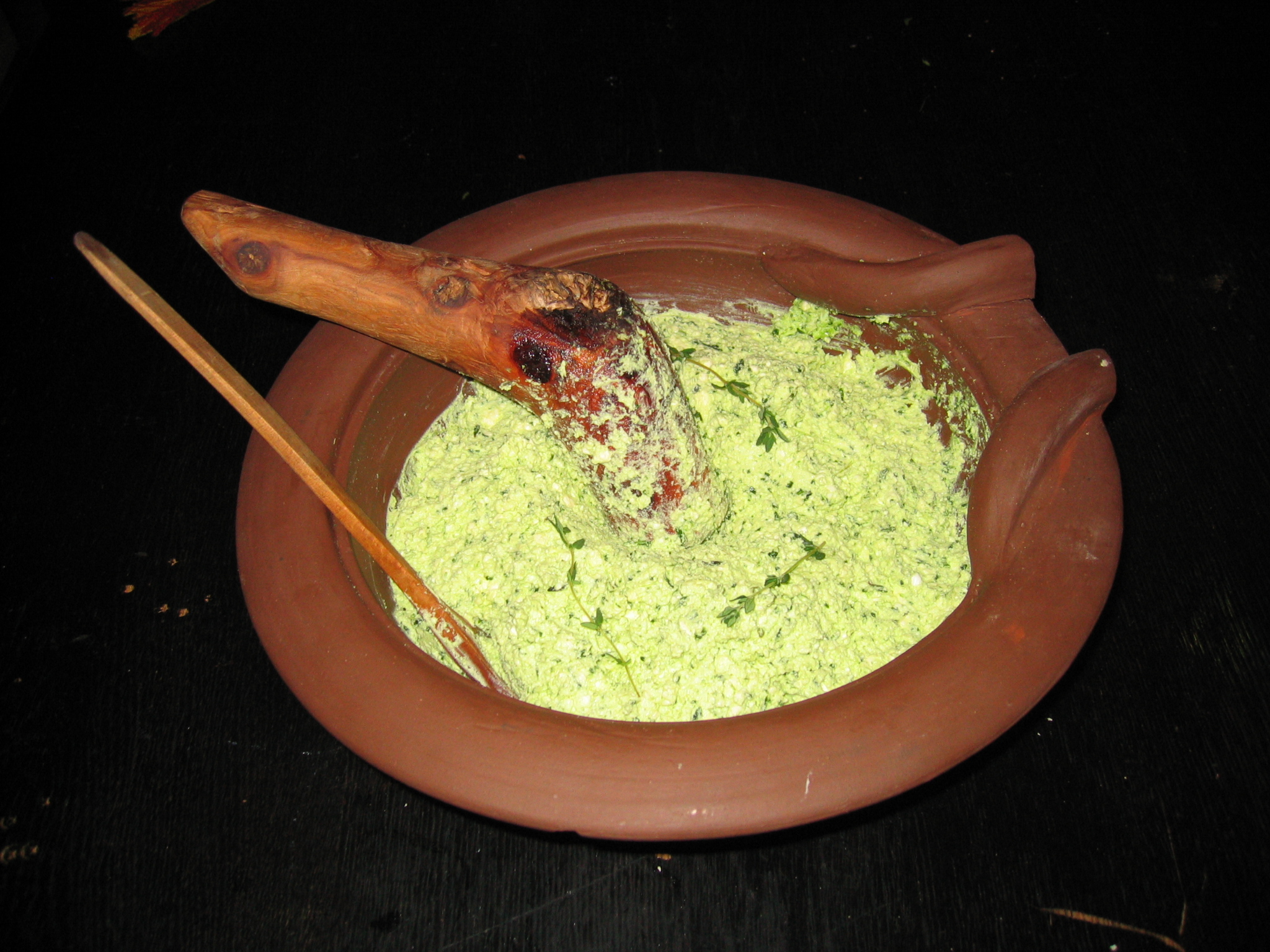 Bon appetit wednesday ancient roman garlic pesto moretum our recipe this week is straight out of the pages of roman literature moretum is a delicious spread similar to our pestoand the roman poet virgil was forumfinder Image collections