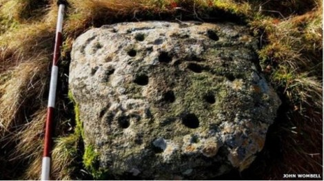 Scottish rock art