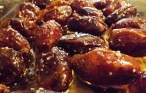 dates in honey