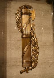 In ancient Rome, the fasces, symbolized strength through unity.