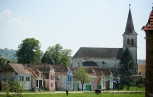 Village of Beia, Romania. (Photo Credit: Mr. Brian Curran. Courtesy of GHF.)