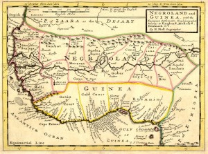 Negroland and Guinea with European Settlements_H. Moll