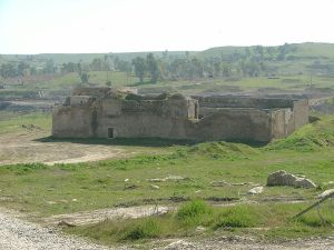 St. Elijah's Monastery in Iraq. The oldest Christian monastery in Iraq, recently destroyed by ISIS.