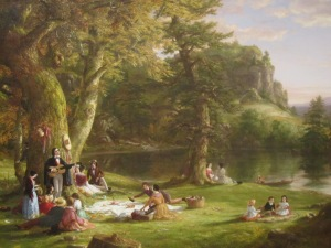 "Thomas Cole's ""The Picnic."""